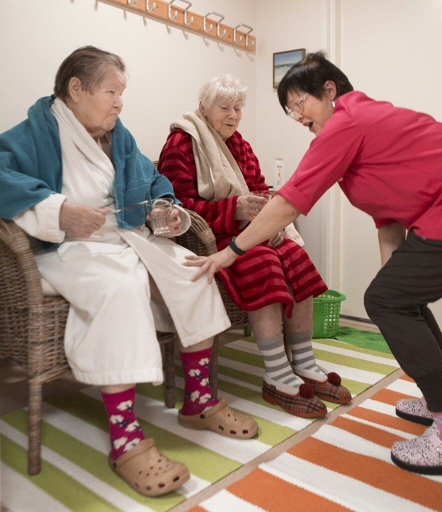 Palveluasuminen Seniorikodeissa